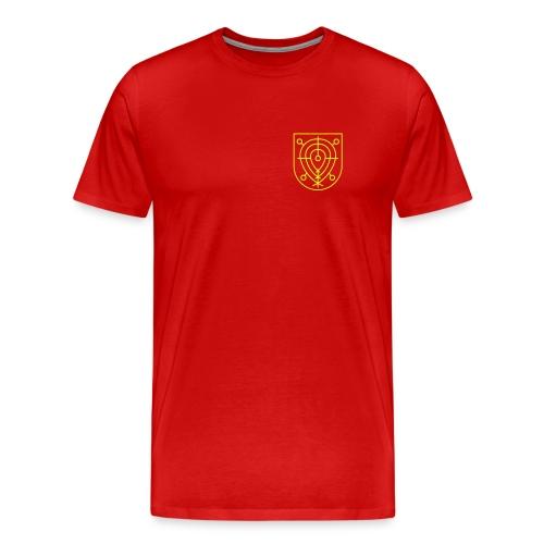 Häre Tischi rot - Männer Premium T-Shirt
