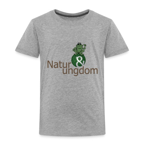 Børne t-shirt ikke øko frø - Børne premium T-shirt