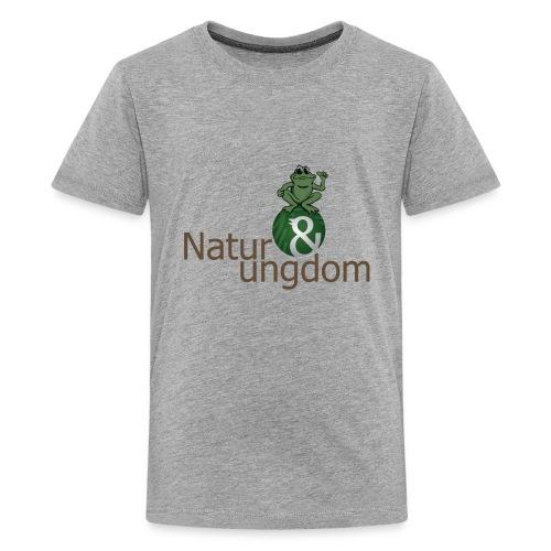 Teenage t-shirt ikke øko frø - Teenager premium T-shirt