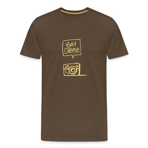 say cheese 1 - Männer Premium T-Shirt