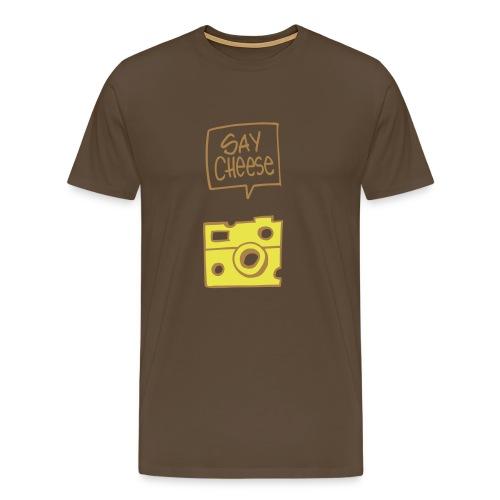 say cheese 2 - Männer Premium T-Shirt