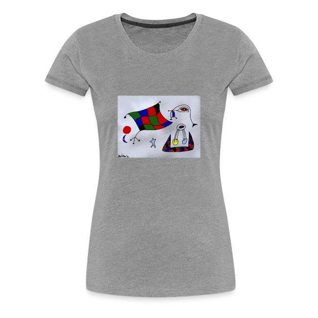 T-Shirt de senhora Portugal é Arte de Bel'Miro