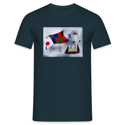 T-shirt de homem Portugal é Arte de Bel'Miro - Men's T-Shirt