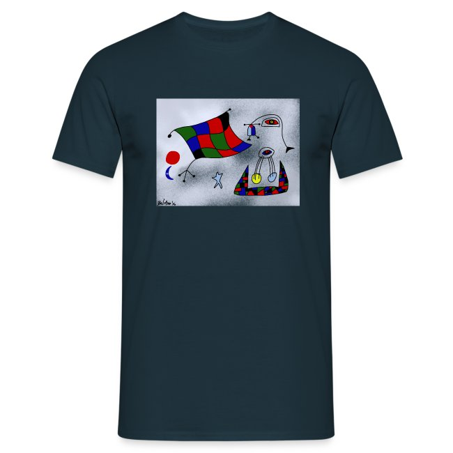 T-shirt de homem Portugal é Arte de Bel'Miro