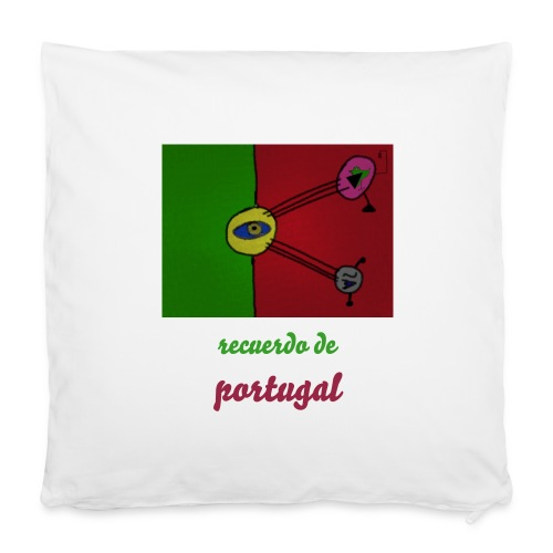 "Almofada Recuerdo de Portugal - Pillowcase 16"" x 16"" (40 x 40 cm)"