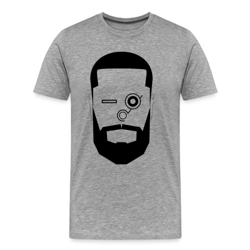mr beard black - Men's Premium T-Shirt