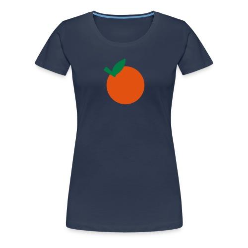 Mandarine ? - Frauen Premium T-Shirt