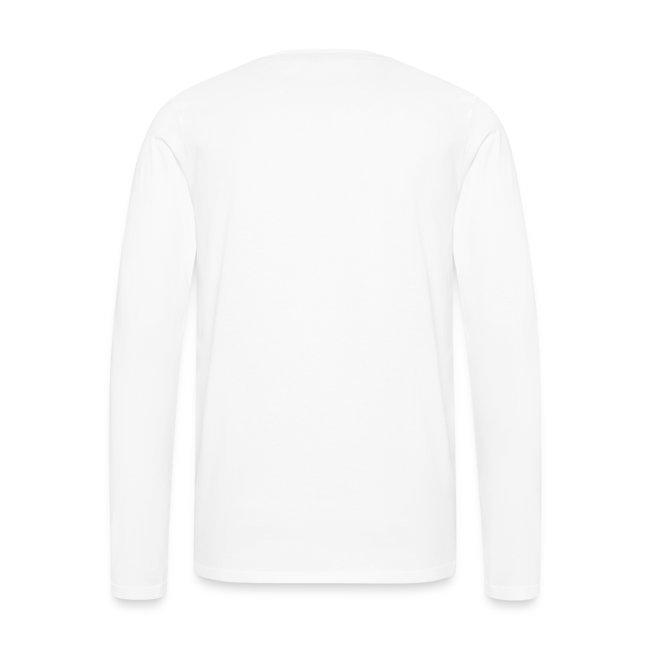 Männer Langarm-Shirt, ROYC klein/einfarbig Flock-Druck