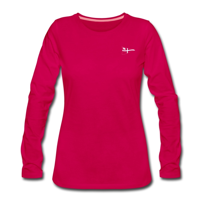 new styles ac337 53af0 Frauen Langarm-Shirt, ROYC klein/einfarbig Flock-Druck   Frauen Premium  Langarmshirt