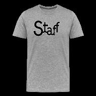 Camisetas ~ Camiseta premium hombre ~ Camiseta hombre Staff