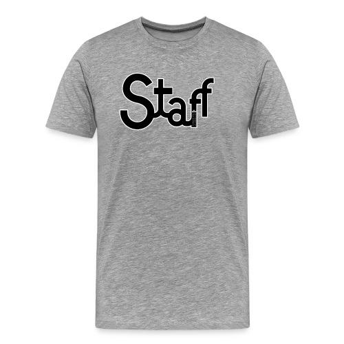 Camiseta hombre Staff - Camiseta premium hombre