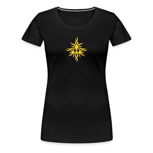 SHOE T-Shirt - Tribal Sun - Frauen Premium T-Shirt