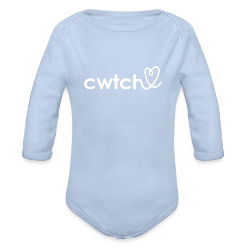 Soft organic cwtch - Organic Longsleeve Baby Bodysuit