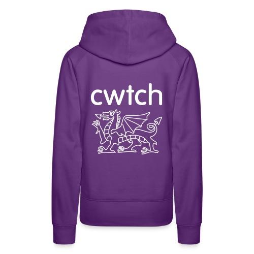 Soft organic cwtch - Women's Premium Hoodie