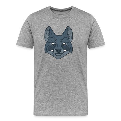 Tribal wolf mask - Men's Premium T-Shirt