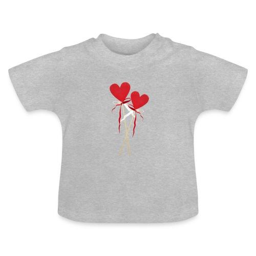 baby süße Herzen - Baby T-Shirt