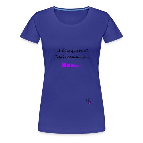 T-shirt après - T-shirt Premium Femme