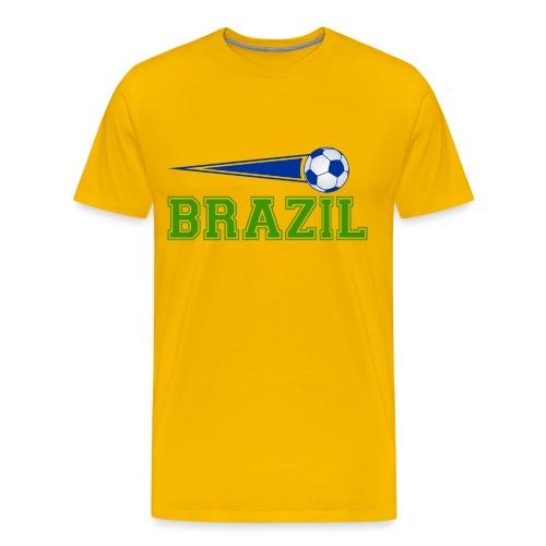 Brazil sport 01 - Men's Premium T-Shirt