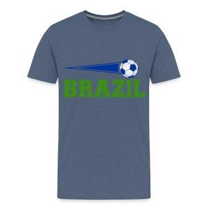 Brazil sport 01 - Teenage Premium T-Shirt