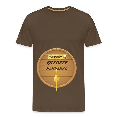 Østofte Håndbryg - Tønde - Herre premium T-shirt