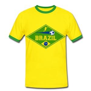 Brazil sport 02 - Men's Ringer Shirt