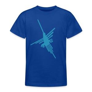 Nazca Kolibri, hellblau - Teenager T-Shirt
