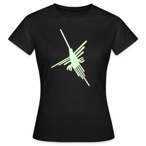 Nazca Kolibri, nightglow - Frauen T-Shirt