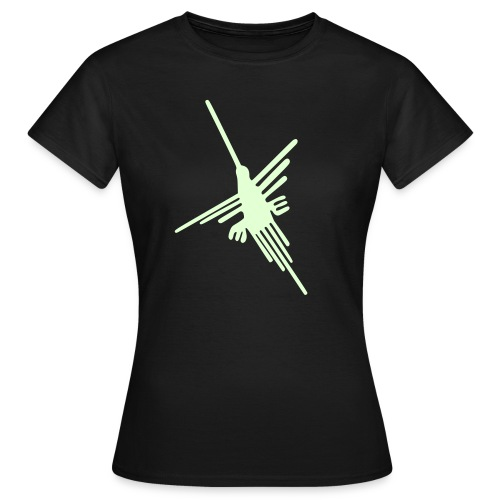 Nazca Kolibri, nightglow - Frauen T-Shirt