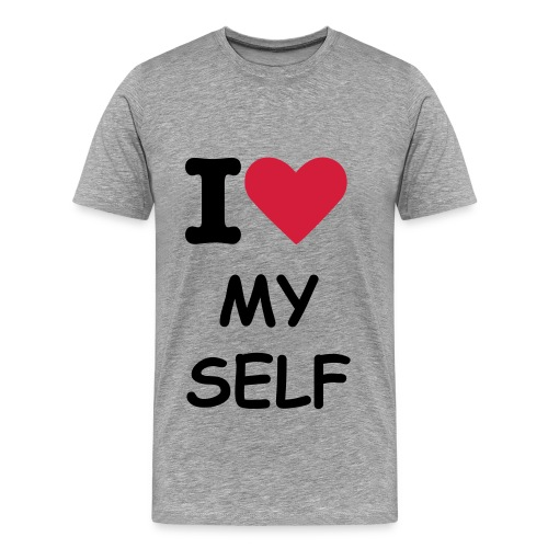 i love my self - Men's Premium T-Shirt