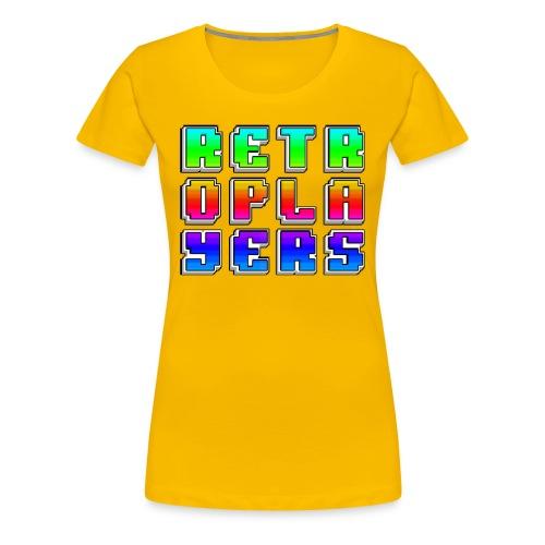Retroplayers Premium Shirt - Donna - Maglietta Premium da donna
