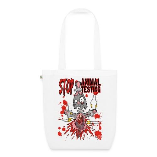Stop Animal Testing Bunny - Bio-Stoffbeutel