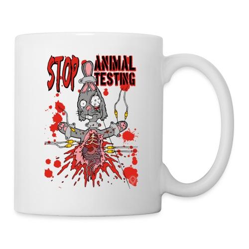 Stop Animal Testing Bunny - Tasse