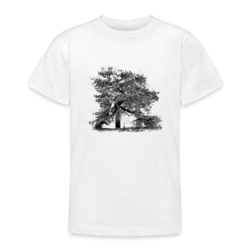 T-Shirt Kiefer - Baum der Mark - Teenager T-Shirt