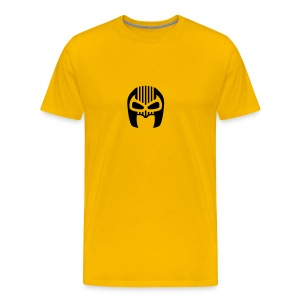 Snuff Crew Mask T-Shirt Standard yellow - Men's Premium T-Shirt