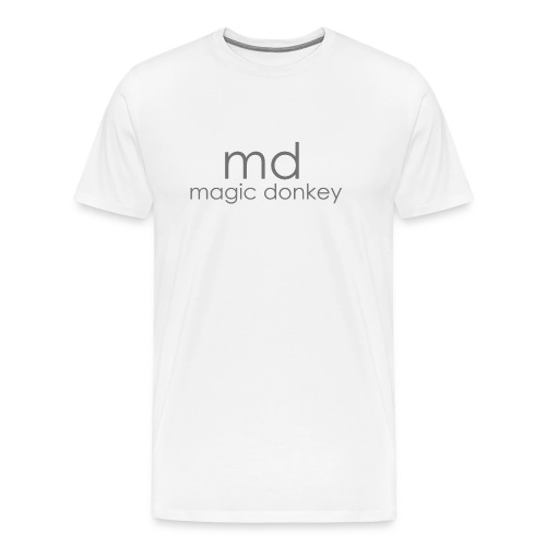 MD Crew Neck - White - Men's Premium T-Shirt