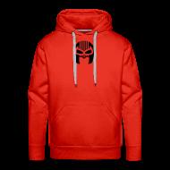 Hoodies & Sweatshirts ~ Men's Premium Hoodie ~ Snuff Crew Mask Hoodie red