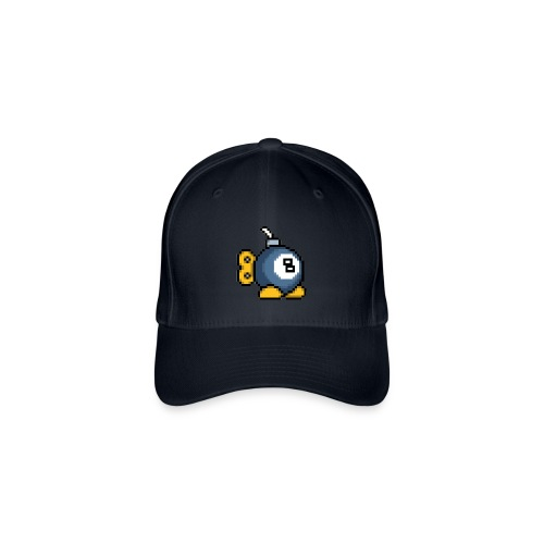 8bit 8ball Bomb FlexPeak Cap - Flexfit Baseball Cap