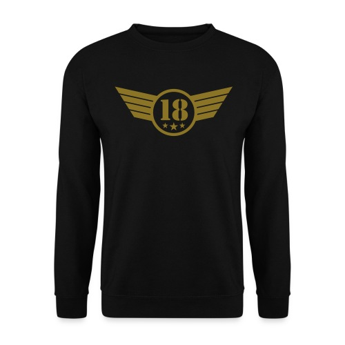 Pullover 18 Emblem - Männer Pullover