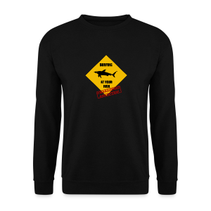 Beware the shark - Männer Pullover