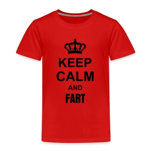 Keep calm and fart - Kids' Premium T-Shirt