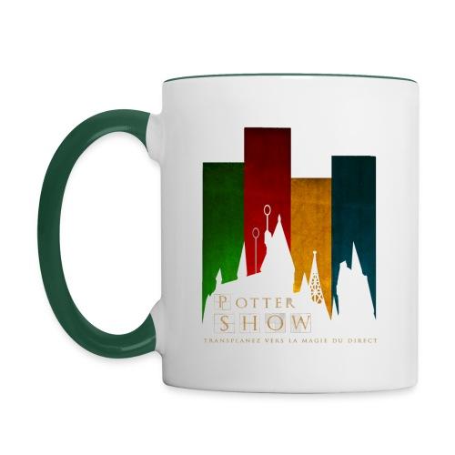 Mug emission Coloré - Mug contrasté