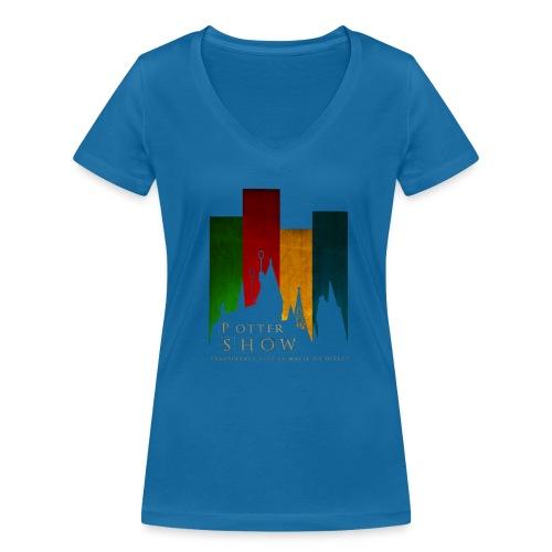 Tee-shirt cole V Femme - T-shirt bio col V Stanley & Stella Femme