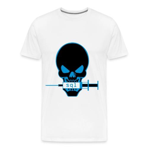 Skull SQL - T-shirt Premium Homme
