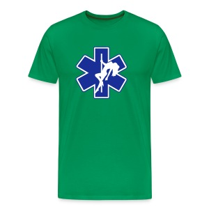 Star of Lust men's green tee - Men's Premium T-Shirt