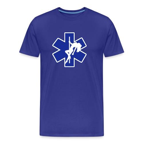 Star of Lust men's blue tee - Men's Premium T-Shirt