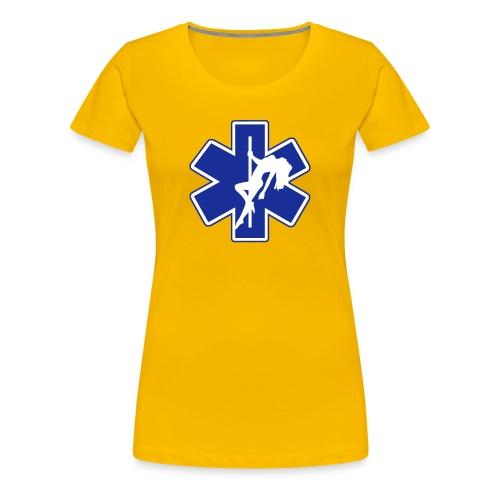 Star of Lust women's yellow tee - Women's Premium T-Shirt