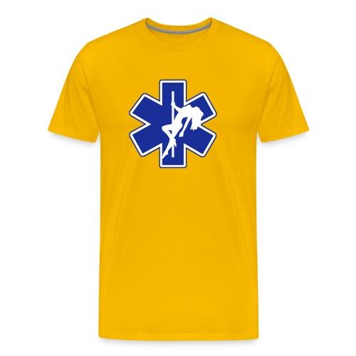 Star of Lust men's yellow tee - Men's Premium T-Shirt