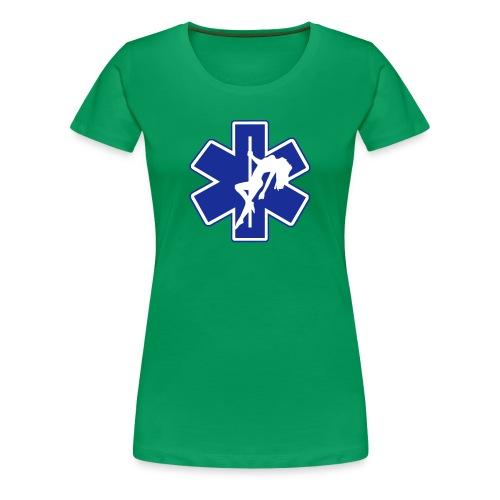Star of Lust women's green tee - Women's Premium T-Shirt