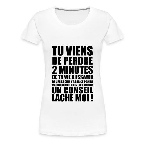 TROLL ! - T-shirt Premium Femme