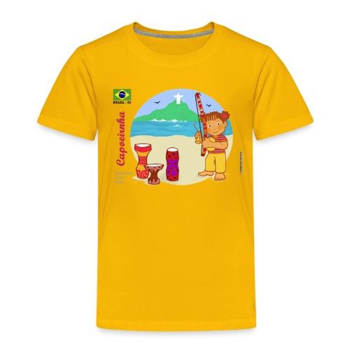 Capoeira for girls - Kids' Premium T-Shirt